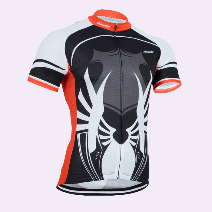 Custom Polyester Mens Cycling Jersey with Pocket