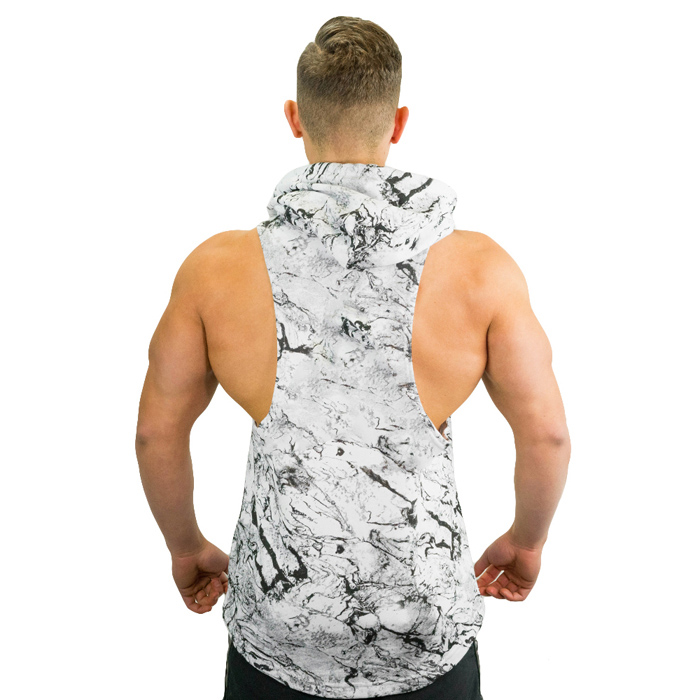 Marble  Workout Hoodies