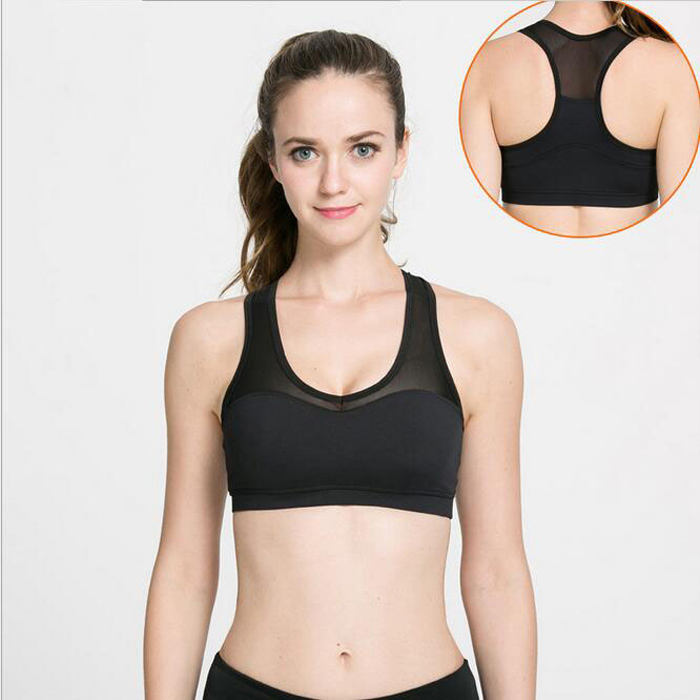 Yoga Black Sports Bra