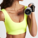 High Impact Yellow Sports Bra