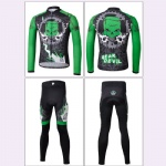 Mens Long Sleeve European Cycling Jersey