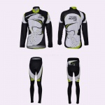 Sublimated Long Sleeve Cycle Wear