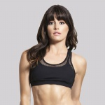Nylon/Spandex Dry Fit Sports Bra