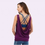 Backless Peacock Tank top